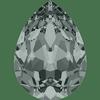Dreamtime Crystal DC 4320 Pear Shaped Fancy Stone Black Diamond 14x10mm