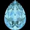 Dreamtime Crystal DC 4320 Pear Shaped Fancy Stone Aquamarine 18x13mm