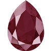 Swarovski 4320 Pear Fancy Stone 18x13mm Crystal Dark Red