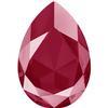 Swarovski 4327 Large Pear Shaped Fancy Stone Crystal Dark Red 30x20mm
