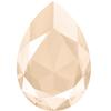 Swarovski 4327 Large Pear Shaped Fancy Stone Crystal Ivory Cream 30x20mm