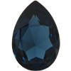 Swarovski 4327 Large Pear Shaped Fancy Stone Montana 30x20mm