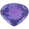 Swarovski 4370 Rounded Pear Shaped Fancy Stone Tanzanite 11x10mm