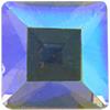 Swarovski 4401 Square Fancy Stone Black Diamond AB 4mm