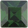 Swarovski 4400 Square Vintage Fancy Stone Green Tourmaline 6mm