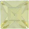 Swarovski 4400 Square Vintage Fancy Stone Jonquil 3mm