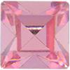 Swarovski 4400 Square Vintage Fancy Stone Light Rose 4mm