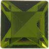 Swarovski 4400 Square Vintage Fancy Stone Olivine 2.3mm