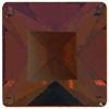 Swarovski 4401 Square Fancy Stone Crystal Astral Copper 4mm