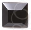 Swarovski 4401 Square Fancy Stone Jet Unfoiled 4mm
