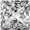 Swarovski 4418 Xilion Pointed Square Fancy Stone Crystal Black Patina 8mm