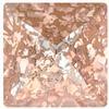 Swarovski 4418 Xilion Pointed Square Fancy Stone Crystal Rose Patina 6mm