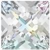 Swarovski 4418 Xilion Pointed Square Fancy Stone Crystal AB 6mm