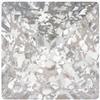 Swarovski 4418 Xilion Pointed Square Fancy Stone Crystal Silver Patina 8mm