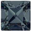 Swarovski 4428 Square Fancy Stone Graphite 8mm