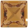 Swarovski 4428 Square Fancy Stone Light Colorado Topaz 8mm