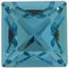 Swarovski 4428 Square Fancy Stone Light Turquoise 3mm