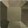 Swarovski 4428 Square Fancy Stone Crystal Metallic Light Gold 4mm