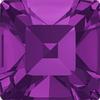Dreamtime Crystal DC 4428 Square Fancy Stone Amethyst 3mm