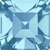 Dreamtime Crystal DC 4428 Square Fancy Stone Aquamarine 3mm