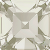 Dreamtime Crystal DC 4428 Square Fancy Stone Crystal Silver Shade 3mm