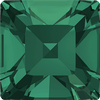 Dreamtime Crystal DC 4428 Square Fancy Stone Emerald 3mm