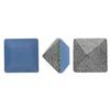 Swarovski 4428 Square Fancy Stone Air Blue Opal 3mm