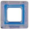 Swarovski 4439 Square Ring Fancy Stone Crystal AB 14mm