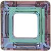 Swarovski 4439 Square Ring Fancy Stone Crystal Vitrail Light 20mm