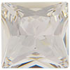Swarovski 4447 Princess Square Fancy Stone Crystal 10mm