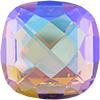 Swarovski 4461 Classical Square Fancy Stone Light Colorado Topaz Blue AB 16mm