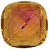 Swarovski 4461 Classical Square Fancy Stone Crystal Summer Blush 16mm