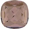 Swarovski 4461 Classical Square Fancy Stone Vintage Rose 16mm