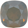Swarovski 4470 Cushion Cut Square Fancy Stone Air Blue Opal Golden Shadow 12mm