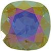 Swarovski 4470 Cushion Cut Square Fancy Stone Air Blue Opal Purple Haze 12mm