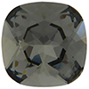 Swarovski 4470 Cushion Cut Square Fancy Stone Black Diamond 12mm