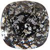 Swarovski 4470 Cushion Cut Square Fancy Stone Crystal Black Patina 12mm