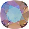 Swarovski 4470 Cushion Cut Square Fancy Stone Blush Rose Glacier Blue 12mm
