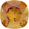 Swarovski 4470 Cushion Cut Square Fancy Stone Crystal Brandy 12mm