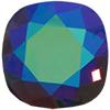Swarovski 4470 Cushion Cut Square Fancy Stone Burgundy Glacier Blue 12mm