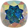 Swarovski 4470 Cushion Cut Square Fancy Stone Crystal AB 12mm