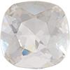 Swarovski 4470 Cushion Cut Square Fancy Stone Crystal (Silver Foil) 10mm