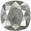 Swarovski 4470 Cushion Cut Square Fancy Stone Crystal Dark Grey 10mm Foiled