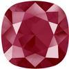 Swarovski 4470 Cushion Cut Square Fancy Stone Crystal Dark Red 10mm