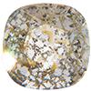 Swarovski 4470 Cushion Cut Square Fancy Stone Crystal Gold Patina 12mm