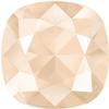 Swarovski 4470 Cushion Cut Square Fancy Stone Crystal Ivory Cream 10mm