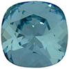 Swarovski 4470 Cushion Cut Square Fancy Stone Light Turquoise 12mm