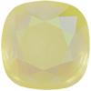 Swarovski 4470 Cushion Cut Square Fancy Stone Powder Yellow AB 12mm