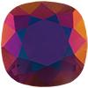 Swarovski 4470 Cushion Cut Square Fancy Stone Purple Velvet Brandy 12mm