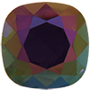 Swarovski 4470 Cushion Cut Square Fancy Stone Purple Velvet Lemon 12mm